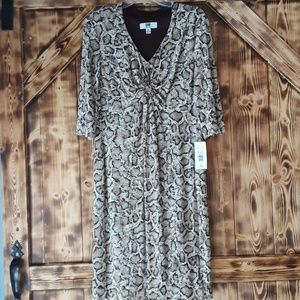 NWT XL DR collection dress